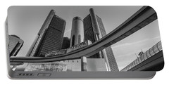 Renaissance Center And People Mover Portable Battery Charger