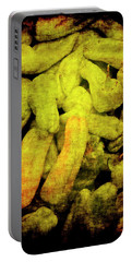 Renaissance Green Peppers Portable Battery Charger