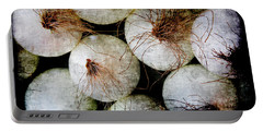 Renaissance White Onions Portable Battery Charger