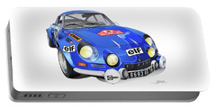 Renault Alpine A110 Portable Battery Charger by Alain Jamar
