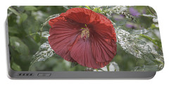 Resilient Hibiscus Portable Battery Charger
