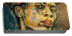 Respect Mixed Media Portable Battery Charger