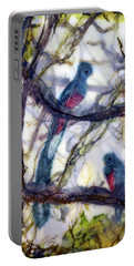 Resplendent Quetzal #1 Portable Battery Charger