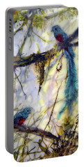 Resplendent Quetzal #2 Portable Battery Charger
