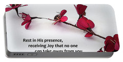 Rest In His Presence Portable Battery Charger