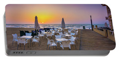 Restaurant Sunrise, Spain. Portable Battery Charger