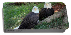 Resting Bald Eagles Portable Battery Charger