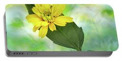 Resting Daisy Portable Battery Charger