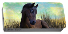 Resting Foal Portable Battery Charger