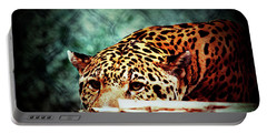 Resting Jaguar Portable Battery Charger