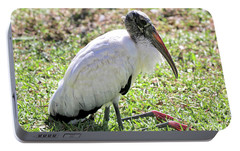 Resting Wood Stork Portable Battery Charger by Carol Groenen