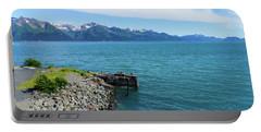 Resurrection Bay Portable Battery Charger by Jennifer White