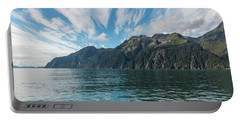 Portable Battery Charger featuring the photograph Resurrection Bay, Kenai Fjords National Park In Alaska by Brenda Jacobs