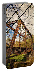 Retired Trestle Portable Battery Charger by John M Bailey