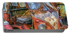 Retired Vw Bus Portable Battery Charger