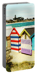 Retro Beach Boxes Portable Battery Charger