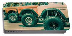 Retro Bronco Heaven Portable Battery Charger