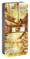 Retro Film Cameras Portable Battery Charger