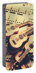 Retro Folk And Blues Portable Battery Charger