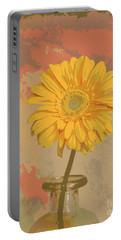 Pop Art Gerber Daisy Portable Battery Charger