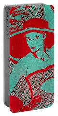 Retro Glam Portable Battery Charger