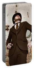 Portable Battery Charger featuring the photograph Retro Nobel Man by Jorgo Photography - Wall Art Gallery