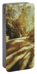 Retro Rainforest Road Portable Battery Charger