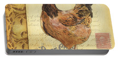 Retro Rooster 1 Portable Battery Charger