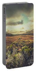 Retro Scenic Wilderness Portable Battery Charger
