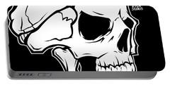 Retro Skull Portable Battery Charger