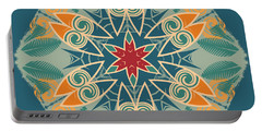 Portable Battery Charger featuring the photograph Retro Surfboard Woodcut by Mary Machare