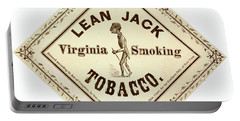 Portable Battery Charger featuring the photograph Retro Tobacco Label 1867 A by Padre Art