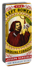Retro Tobacco Label 1869 C Portable Battery Charger