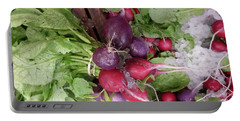 Revel In Radishes Portable Battery Charger