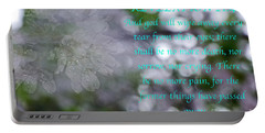 Portable Battery Charger featuring the photograph Revelation 21 - 4 by Donna Brown