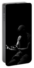 Portable Battery Charger featuring the photograph Revive by Eric Christopher Jackson