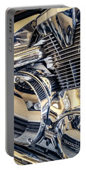 Portable Battery Charger featuring the photograph Revved by Todd Blanchard