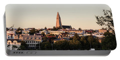 Reykjavik Skyline Portable Battery Charger