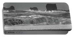 Reynisfjara Beach Vik Iceland 6845 Portable Battery Charger