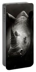 Rhinoceros Portrait Portable Battery Charger
