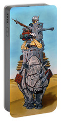 Rhinoceros Riders Portable Battery Charger