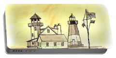 Rhode Island At Narragansett Portable Battery Charger