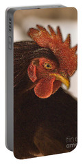 Rhode Island Red Rooster Portable Battery Charger