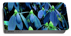 Rhododendron Buds In Spring Portable Battery Charger