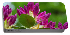 Rhododendron Buds Portable Battery Charger by MTBobbins Photography
