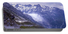 Rhone Glacier, Switzerland Portable Battery Charger
