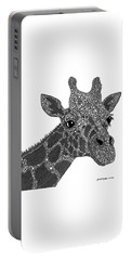 Rhymes With Giraffe Portable Battery Charger