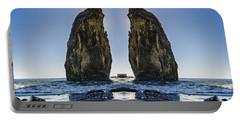 Rialto Beach Sea Stack Reflection Portable Battery Charger