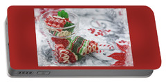Portable Battery Charger featuring the photograph Ribbon Candy by Diane Alexander