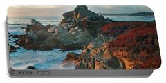 Ribera Beach Sunset Carmel California Portable Battery Charger